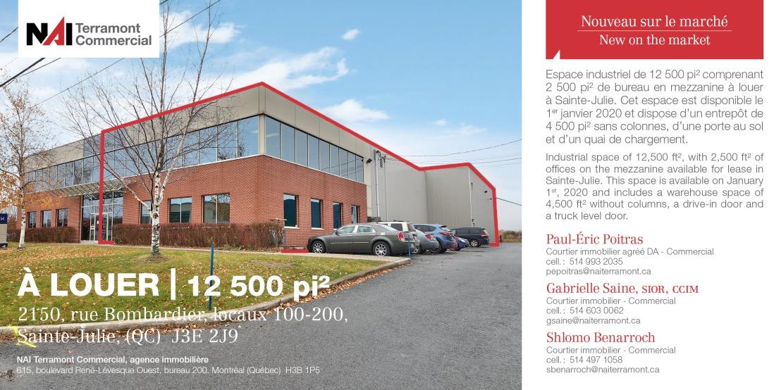 2150_ rue Bombardier_ Sainte-Julie_ PEP-GSA-SBE