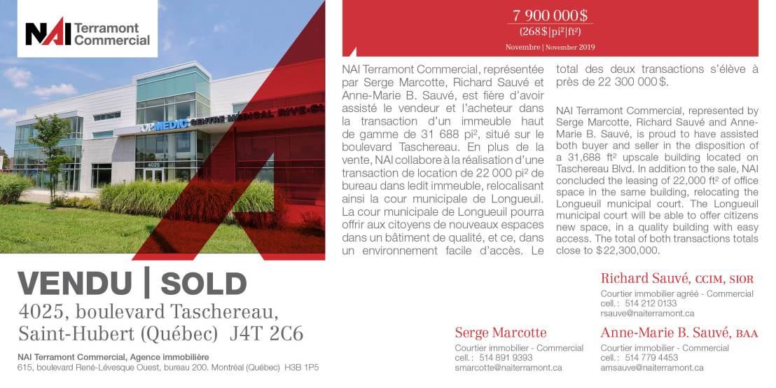 4025_ boulevard Taschereau _ Saint-Hubert_ SMA-RSA-AMSA